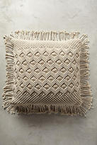 Anthropologie Fringed Diendra Floor Pillow