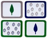 Joanna Buchanan Leaf and Tree Print Coasters Set of 4