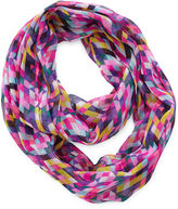 JCPenney ON THE VERGE On the Verge Geo-Print Infinity Scarf - Girls One Size