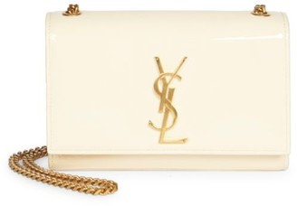 Saint Laurent Small Kate Patent Leather Shoulder Bag