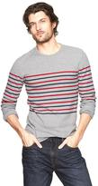 Gap Chest stripe knit crewneck
