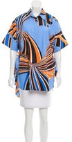 Emilio Pucci Printed Short Sleeve Tunic w/ Tags