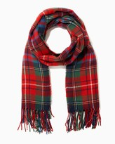 Charming charlie Cozy Plaid Blanket Scarf
