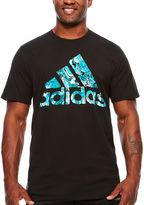 adidas Short Sleeve Crew Neck T-Shirt-Big and Tall