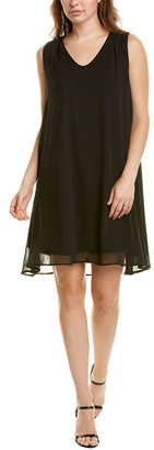 Tmrw Studio Sheer Overlay Shift Dress