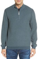 Tommy Bahama 'Make Mine a Double' Reversible Quarter Zip Sweater