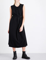 Y's Ys Draped wool dress