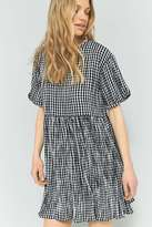 Pins & Needles Gingham Babydoll Dress