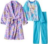 Disney Disney's Frozen Elsa Girls 4-12 Pajamas & Bath Robe Set