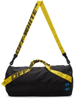 Off-White Black Nylon Duffle Bag