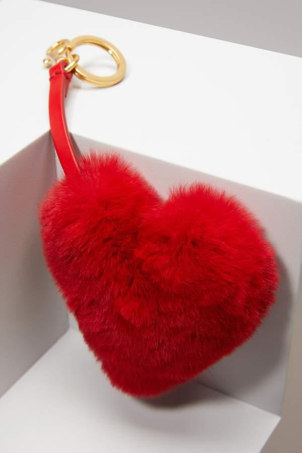 Anya Hindmarch Tassel Heart in Rabbit