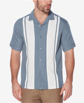 Cubavera Striped Panel Shirt