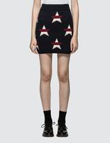 MAISON KITSUNÉ All-over Stars Skirt