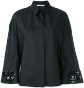 Marni embellished swing fit shirt - women - Cotton - 40