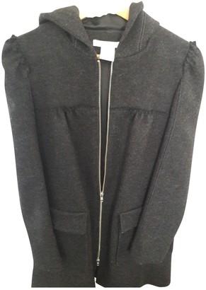 Paul & Joe Anthracite Wool Coat for Women