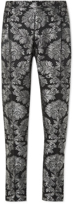 Dolce & Gabbana Tapered Brocade Trousers
