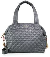 M Z Wallace Sutton Large Quilted Nylon Crossbody Bag