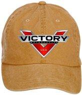 Baorol Victory Motorcycle Logo Adjustable Baseball Washed Cap