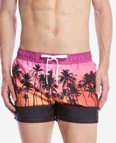 2xist Men's Sunset Palms Drawstring Swim Trunks