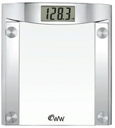 Weight Watchers Scale - Chrome/Glass