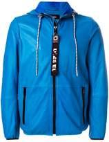 Diesel contrast zip jacket