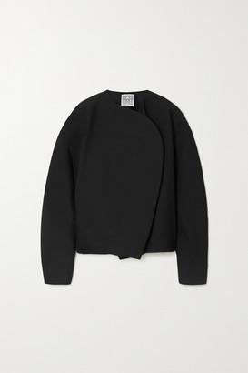 Totême Cotton And Wool-blend Jacket - Black