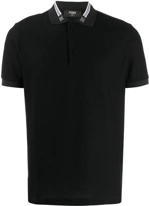 Fendi Karligraphy polo shirt