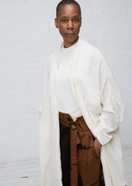 Black Crane eggshell square shirt