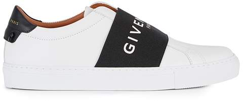 Givenchy Urban Street Monochrome Leather Trainers