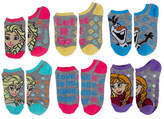 JCPenney FROZEN Disney Frozen 5-pk. No-Show Socks - Girls 7-16