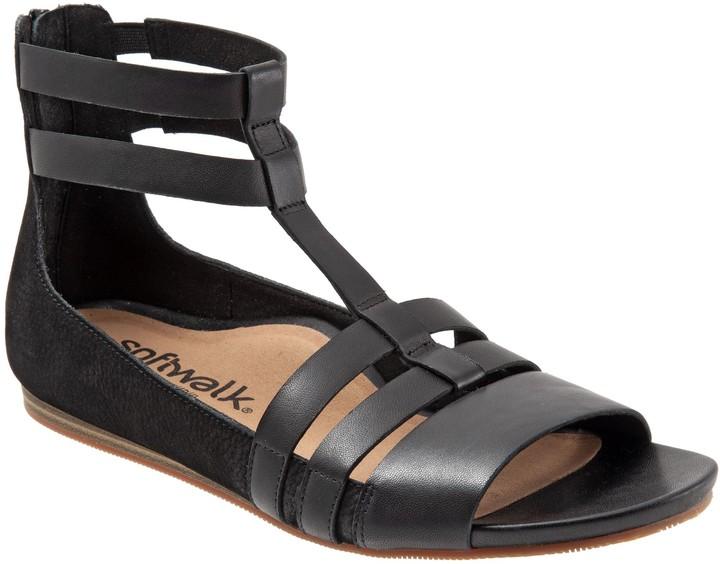 SoftWalk Gladiator Style Sandals - Cazadero