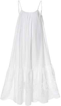 Aggi Lea Floral White Dress