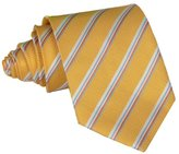 Deercon Classic Men's Wedding Necktie Silk Jacquard Formal Business Tie