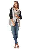 Velvet Marlowe Vest Cobblestone