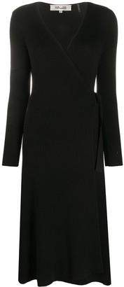 Dvf Diane Von Furstenberg V-Neck Midi Dress