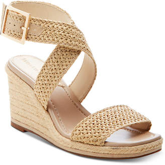 Enzo Angiolini Porice2 Wedge Sandals Women Shoes