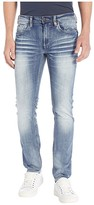 Buffalo David Bitton Max X Super Skinny in Whiskered/Sandblasted (Whiskered/Sandblasted) Men's Jeans