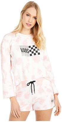 Vans Wazmin Wide Sleeve Crew (Pink Icing) Women's Clothing