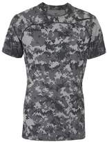 Nike HYPERCOOL TOP SHORT SLEEVES FITTED CAMO T-shirt