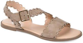 Journee Collection Womens Aubrinn Flat Sandals