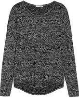 Rag & Bone Hudson Stretch-jersey Top - Anthracite