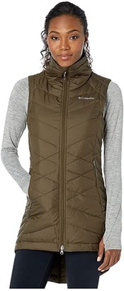 Columbia Heavenlytm Long Vest (Olive Green) Women's Vest