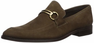 Marc Joseph New York Men's Genuine Leather Luxury Gold Collection Bit Buckle Loafer