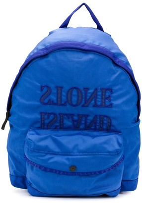 Stone Island Junior Reverse Logo Backpack