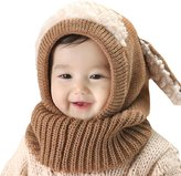 Axiba Baby Kids Girls Boys Autun Winter War Woolen Scarf Caps Hats