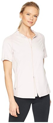 Reboundwear The Lindsey S/S Easy Dressing Adaptive Top (Blush) Women's Clothing
