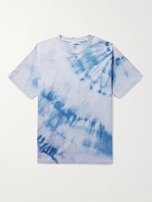 John Elliott University Oversized Tie-Dyed Cotton-Jersey T-Shirt - Men - Purple