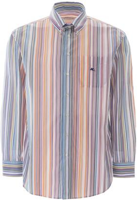 Etro Multicolour Stripes Shirt