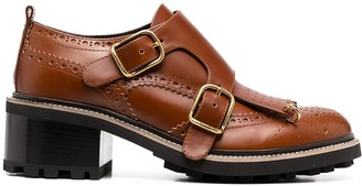 Chloé Double Monk Strap Shoes