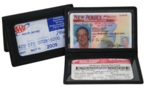 Royce Leather Royce Id Holder Credit Card Wallet in Genuine Leather